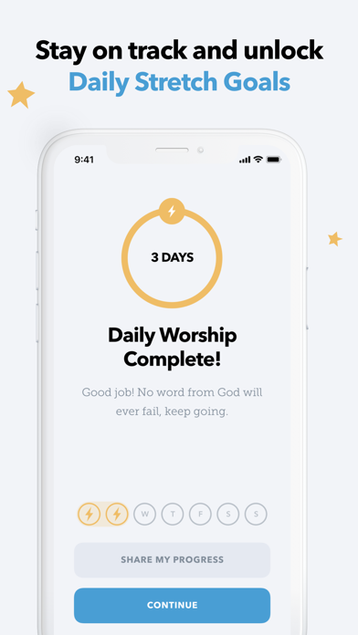 Glorify: Daily Worship Screenshot