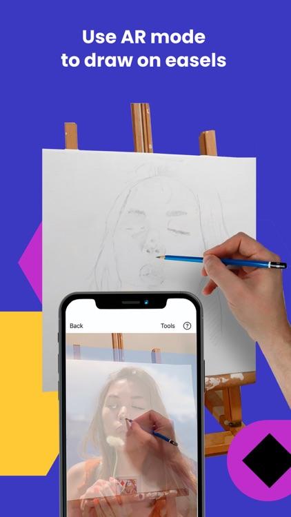 Da Vinci Eye: AR Art Projector screenshot-5