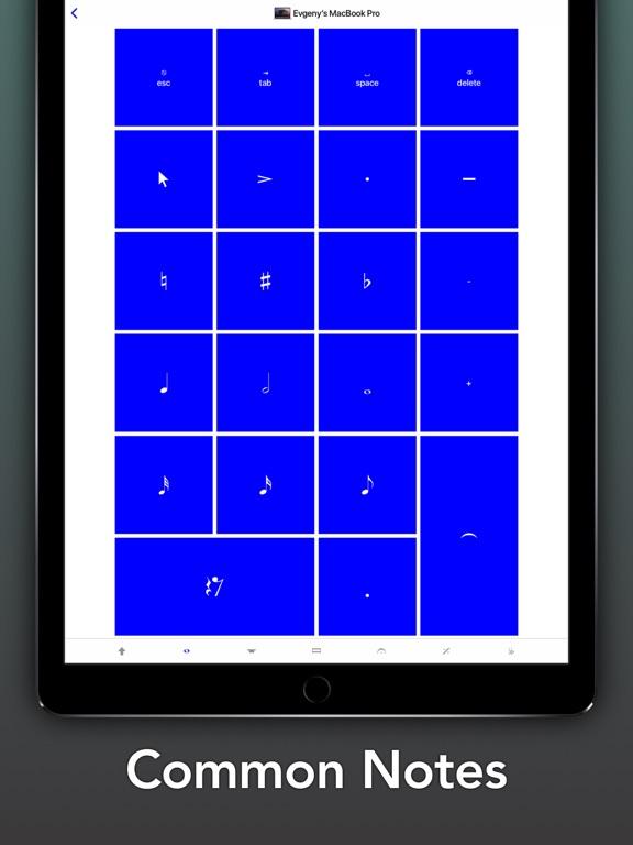 Screenshot #4 pour Sibelius KeyPad for Mac