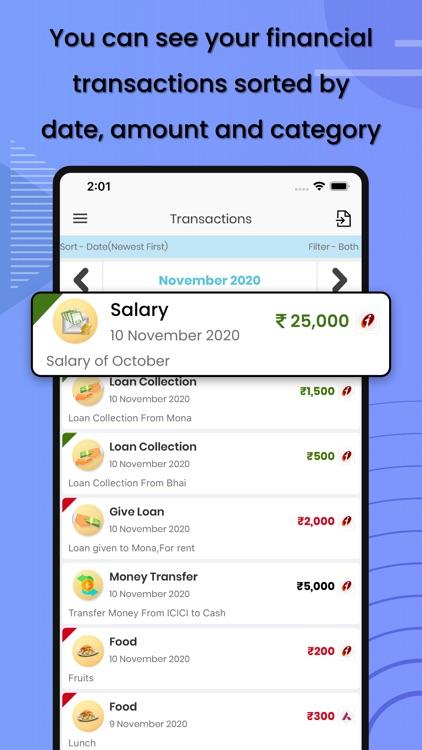 Pick n Store - Money Manager screenshot-3