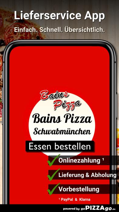 Bains Pizza Schwabmünchen screenshot 1
