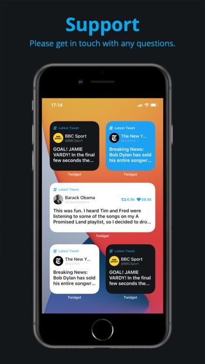 Twidget - Widget for Twitter screenshot-4