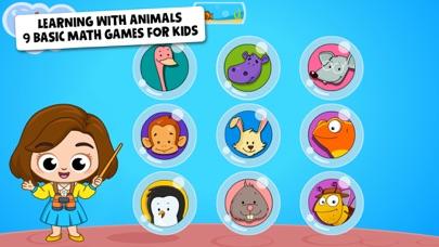 Baby Town: Preschool Math Zoo screenshot 1