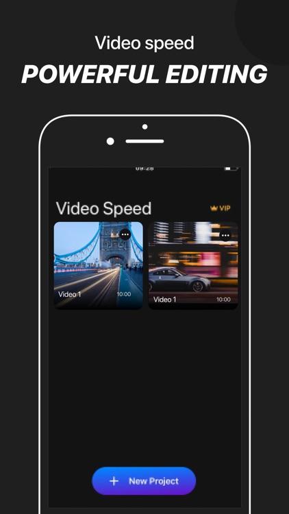 Video Speed: Fast, slow motion screenshot-0