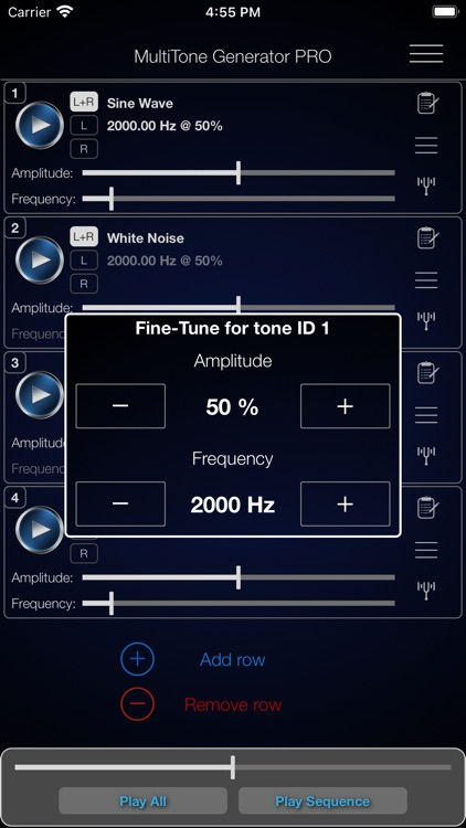 MultiTone Generator PRO screenshot-4