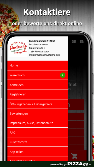 Nudelhaus Pastacasa Bonn screenshot 3