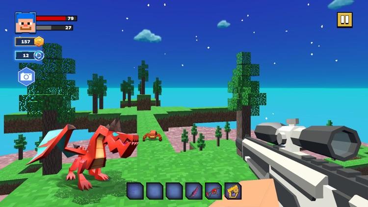 Fire Craft: 3D Pixel World screenshot-3