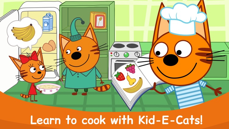 Kid-E-Cats Cooking at Kitchen screenshot-0