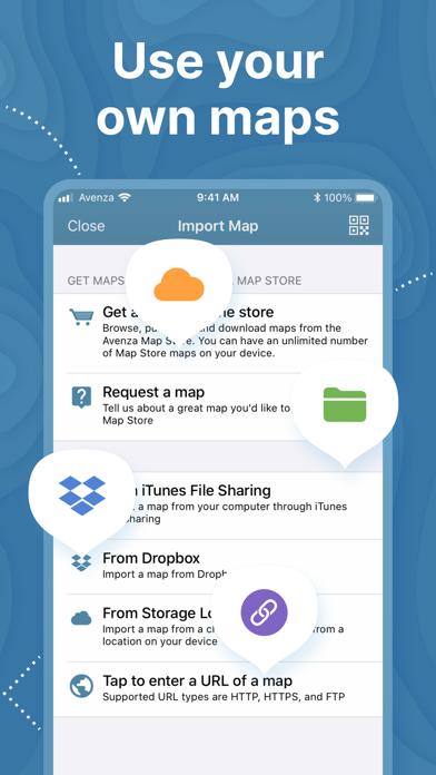 Avenza Maps: Offline Mapping Screenshot