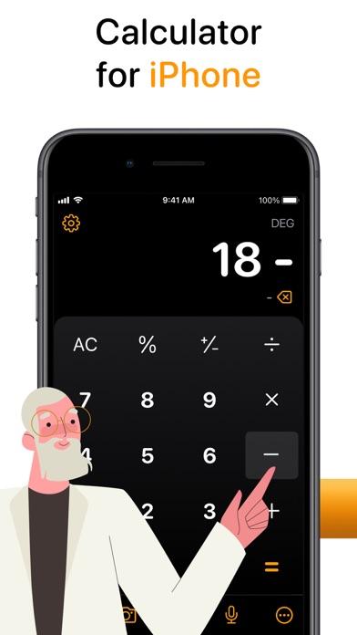 Taschenrechner AirScreenshot von 7