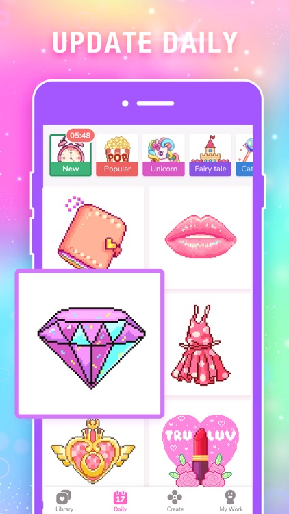 Color by Number Pixel Drawing screenshot-5
