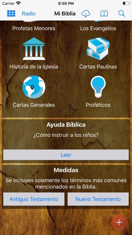 Mi Biblia App