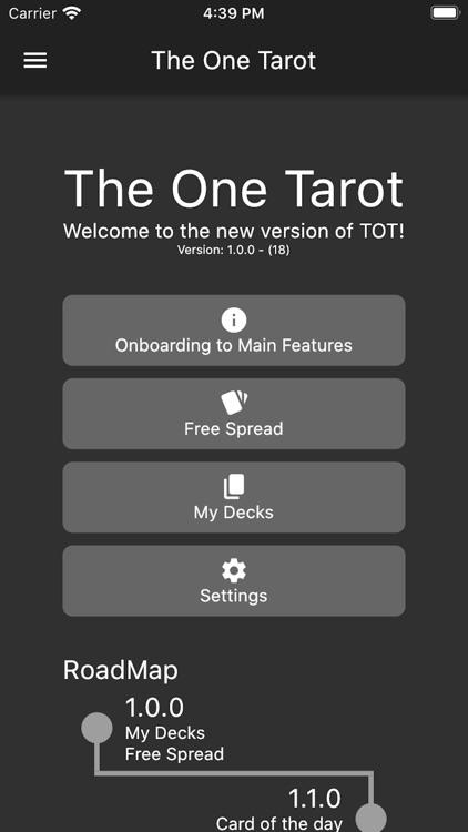 The One Tarot