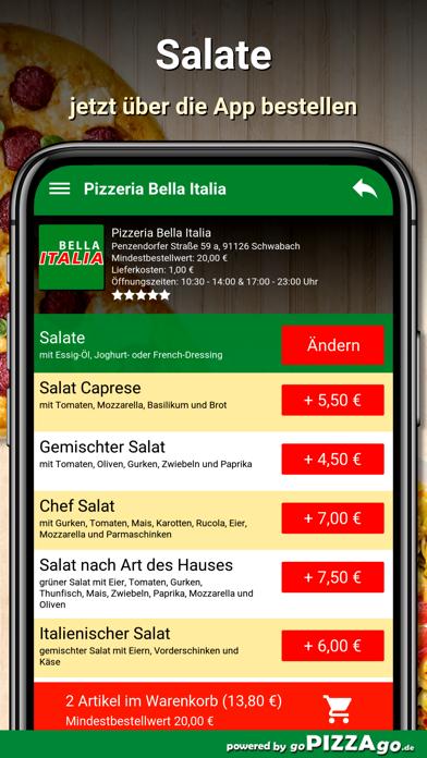 Bella Italia Schwabach screenshot 5
