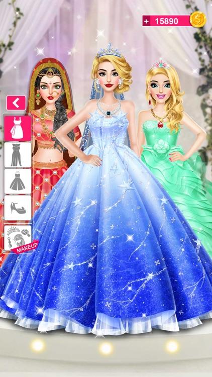 Bride Wedding Fashion Dressup screenshot-3