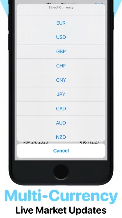 Bitcoin Crypto Ticker - BTC screenshot-3