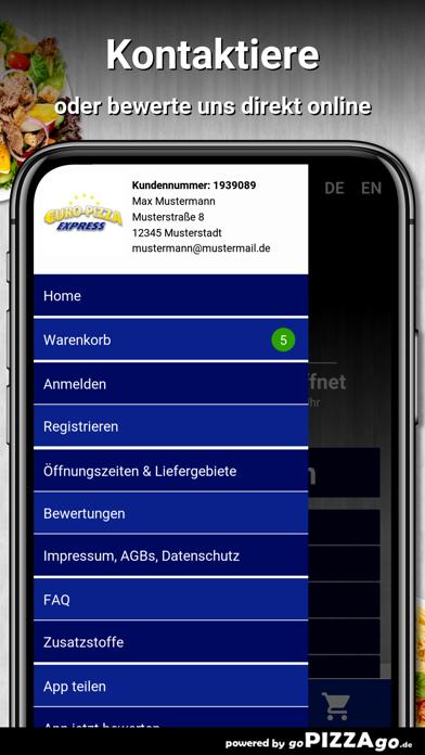 Euro Pizza Bornheim Merten screenshot 3