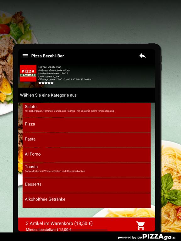 Pizza Bezahl-Bar Fürth screenshot 8