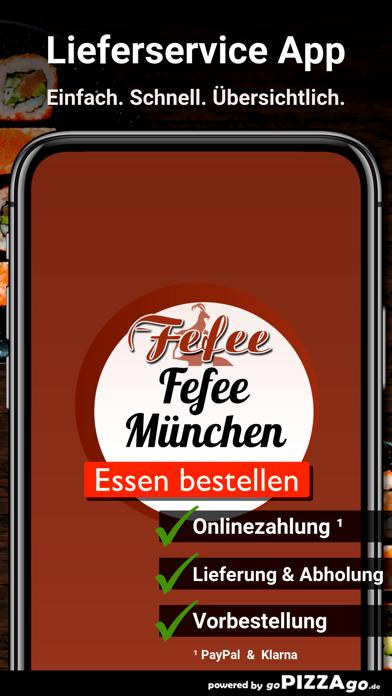 Fefee München Lieferservice screenshot 1