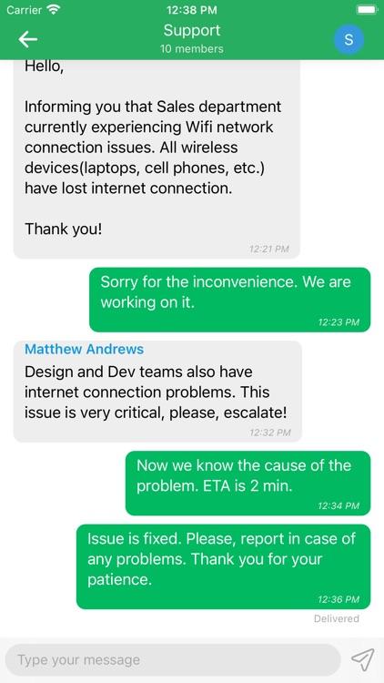 Zultys MX Mobile screenshot-6
