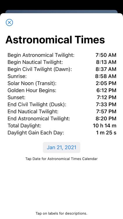 Nav Clock screenshot-3