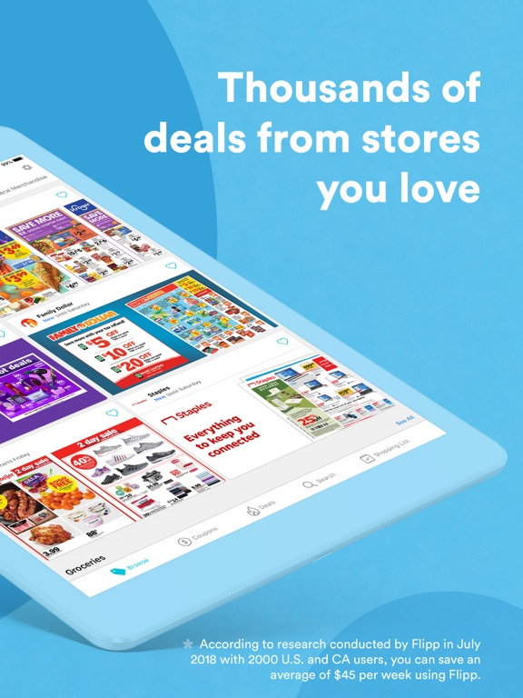 Flipp - Weekly Ads, Shopping List, and Coupons screenshot
