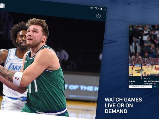 iPad Image of NBA: Live Games & Scores