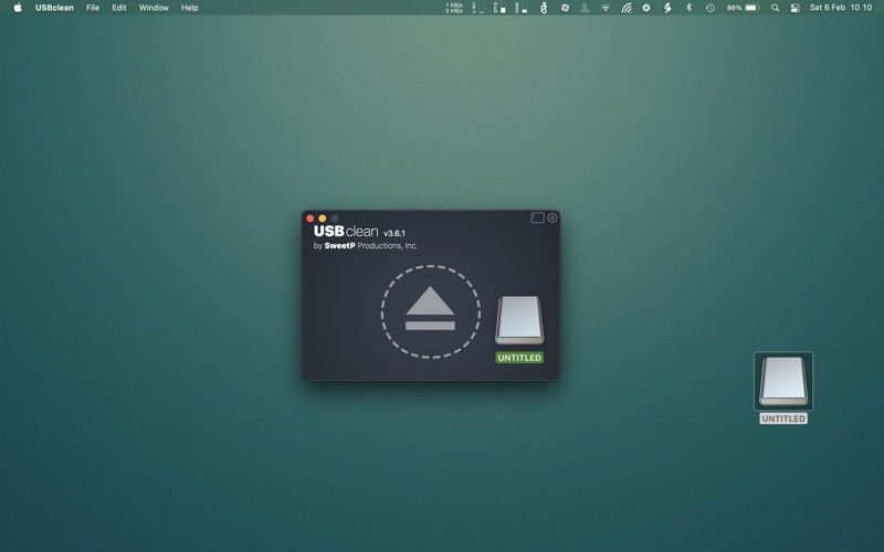 USBclean Screenshots