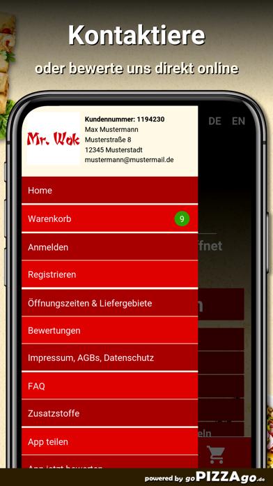 Asia-Bistro Mr. Wok Leipzig screenshot 3