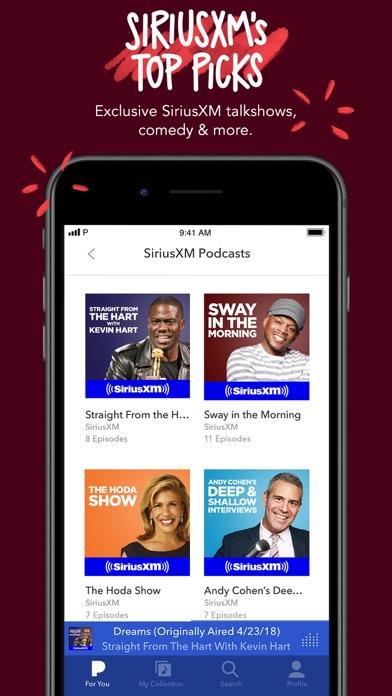 Pandora: Music & Podcasts iPhone