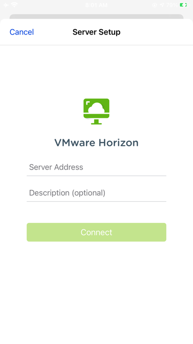 VMware Horizon Client ScreenShot0