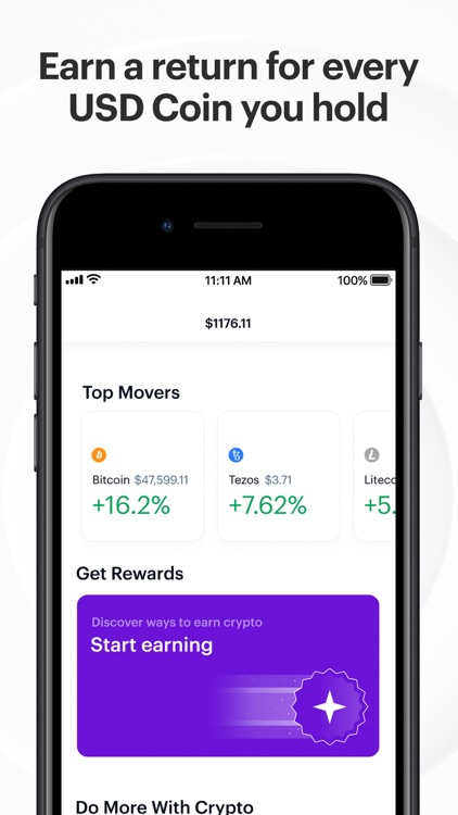 Coinbase: Trade BTC, ETH, DOGE screenshot-7