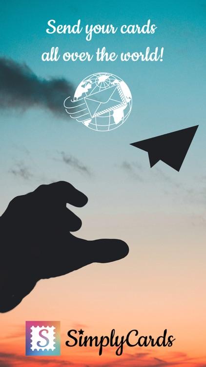 SimplyCards - Real Postcard screenshot-8