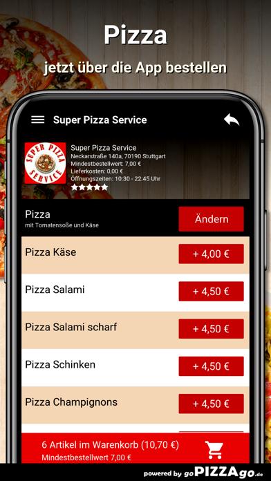 Super Pizza Service Stuttgart screenshot 5