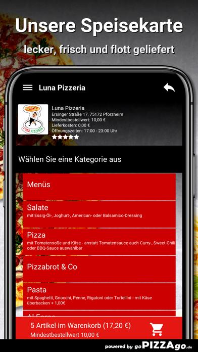 Luna Pizzeria Pforzheim screenshot 4