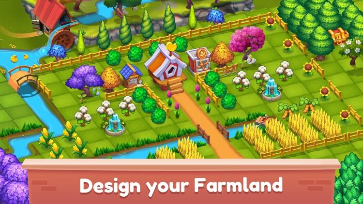 Mingle Farm – Magic Merge Game screenshot-4