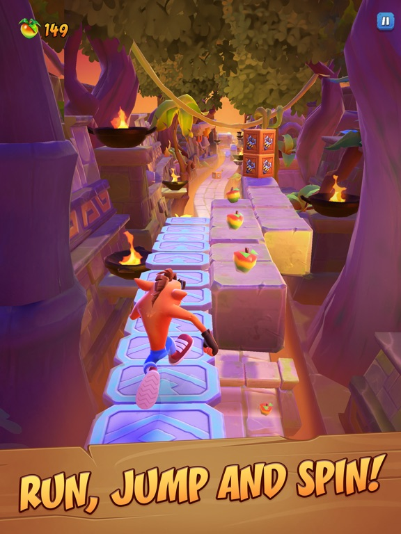Crash Bandicoot: On the Run! screenshot 9