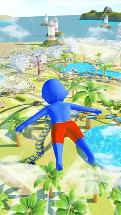 超级水上乐园-果冻人小哥哥快跑