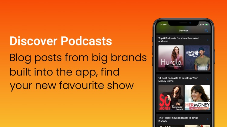 Podcast Alarm - Player & Alarm screenshot-3