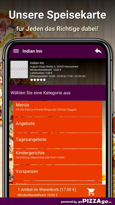 Indian Inn Harsewinkel screenshot 4