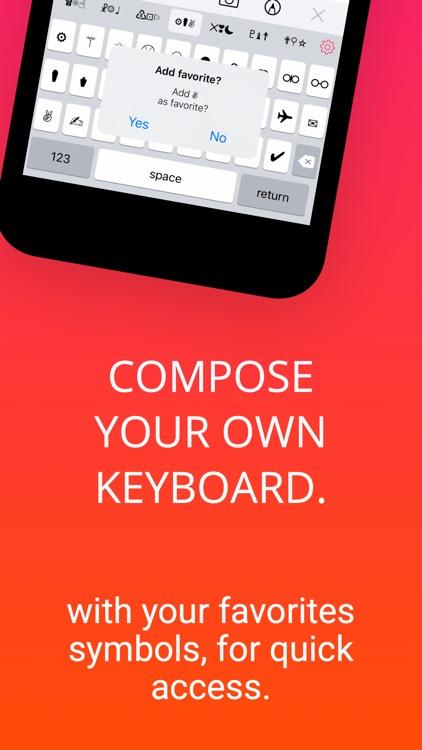 Symbol Keyboard + screenshot-4