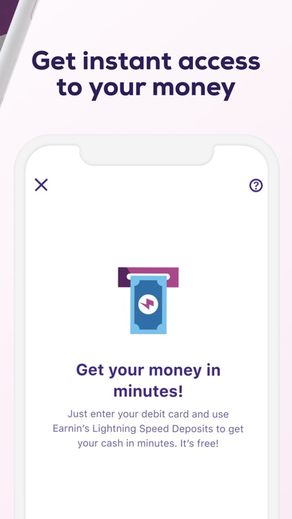 Earnin: Get $100 Before Payday screenshot-3