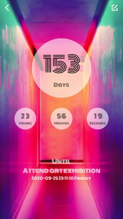 Color Countdown-Tasks Reminder screenshot-4