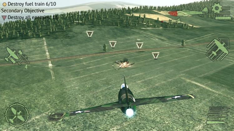 Warplanes: WW2 Dogfight FULL screenshot-8
