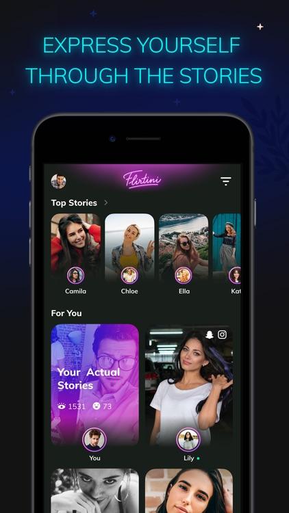 Flirtini - Match, Chat, Meet screenshot-4