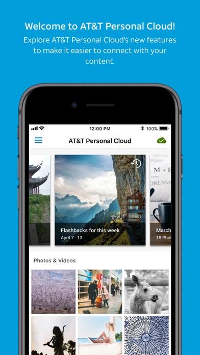 AT&T Personal Cloud screenshot 1