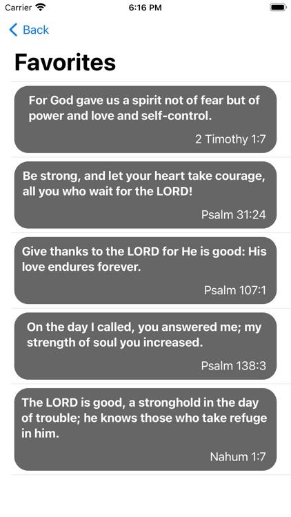 Bible Quotes Widget screenshot-7