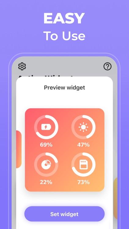Widgets - Create New & Custom