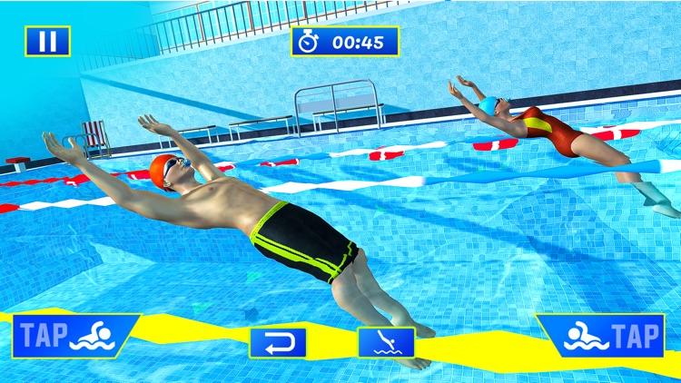 Water Swimming Pool Stunt Race screenshot-3