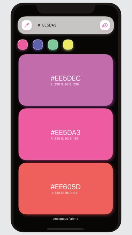 Kulur Color Palettes generator screenshot-3